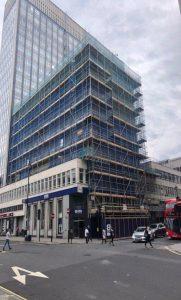 cavendish square scaffolding